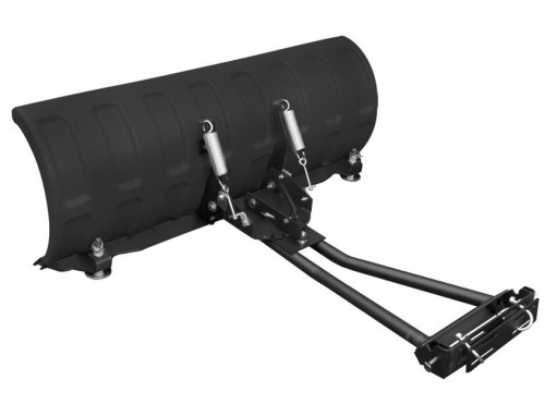 SHARK SNOW PLOW 52″ BLACK (132 CM) WITH UNIVERSAL ADAPTERS